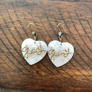 Bloomingdales Juicy bling embellished earrings